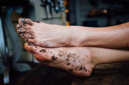 River feets.