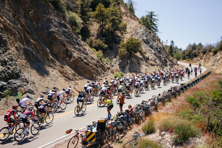 We Welcomed the Tour of California to Town with a Mountaintop Party