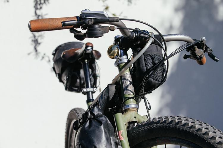 It's Jocey Gaudi's Breadwinner Komorebi 木漏れ日 Bikepacking Rig!