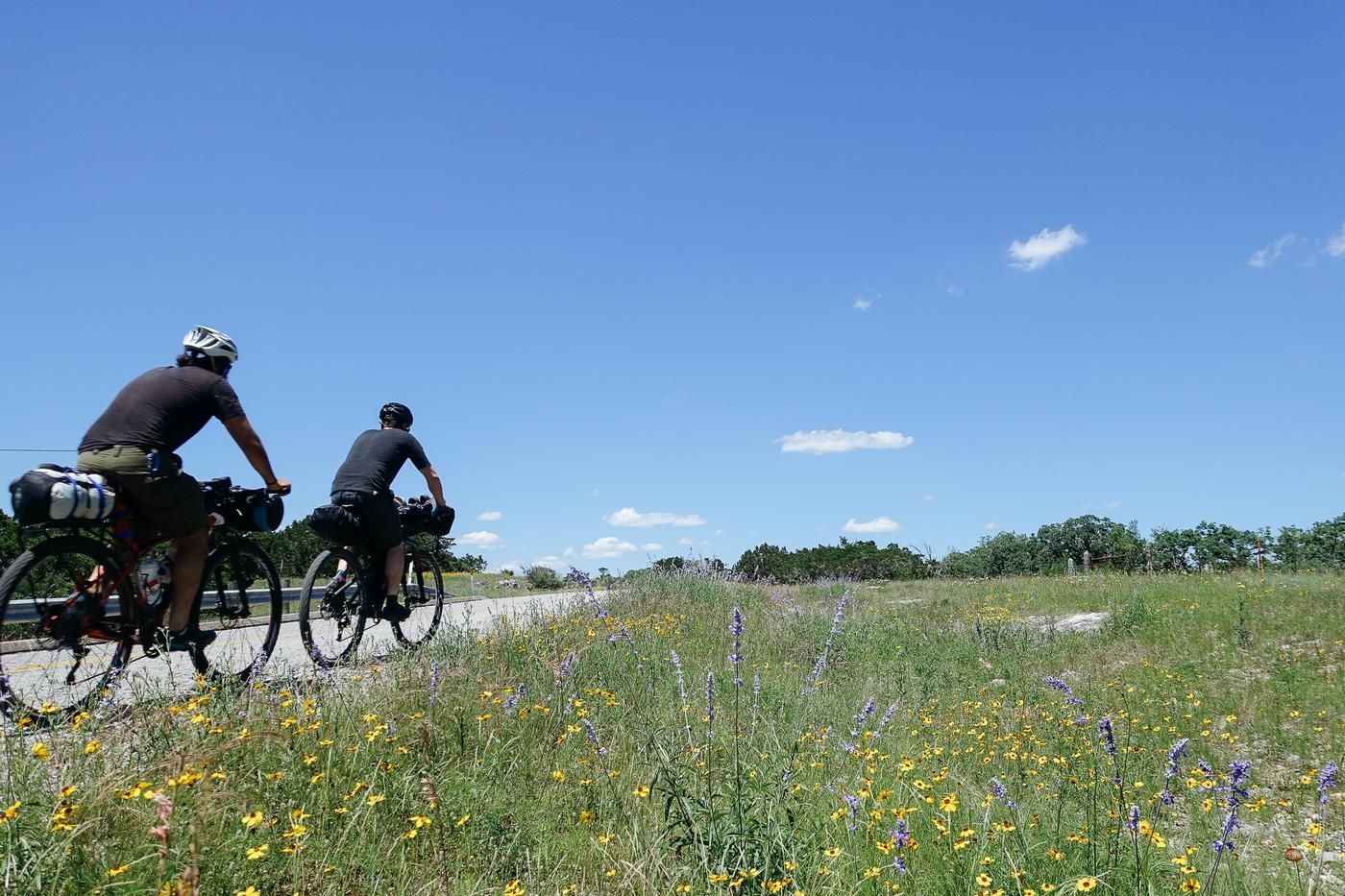 Buck Macho and Chet Bearclaw's Adventure Cycling Team