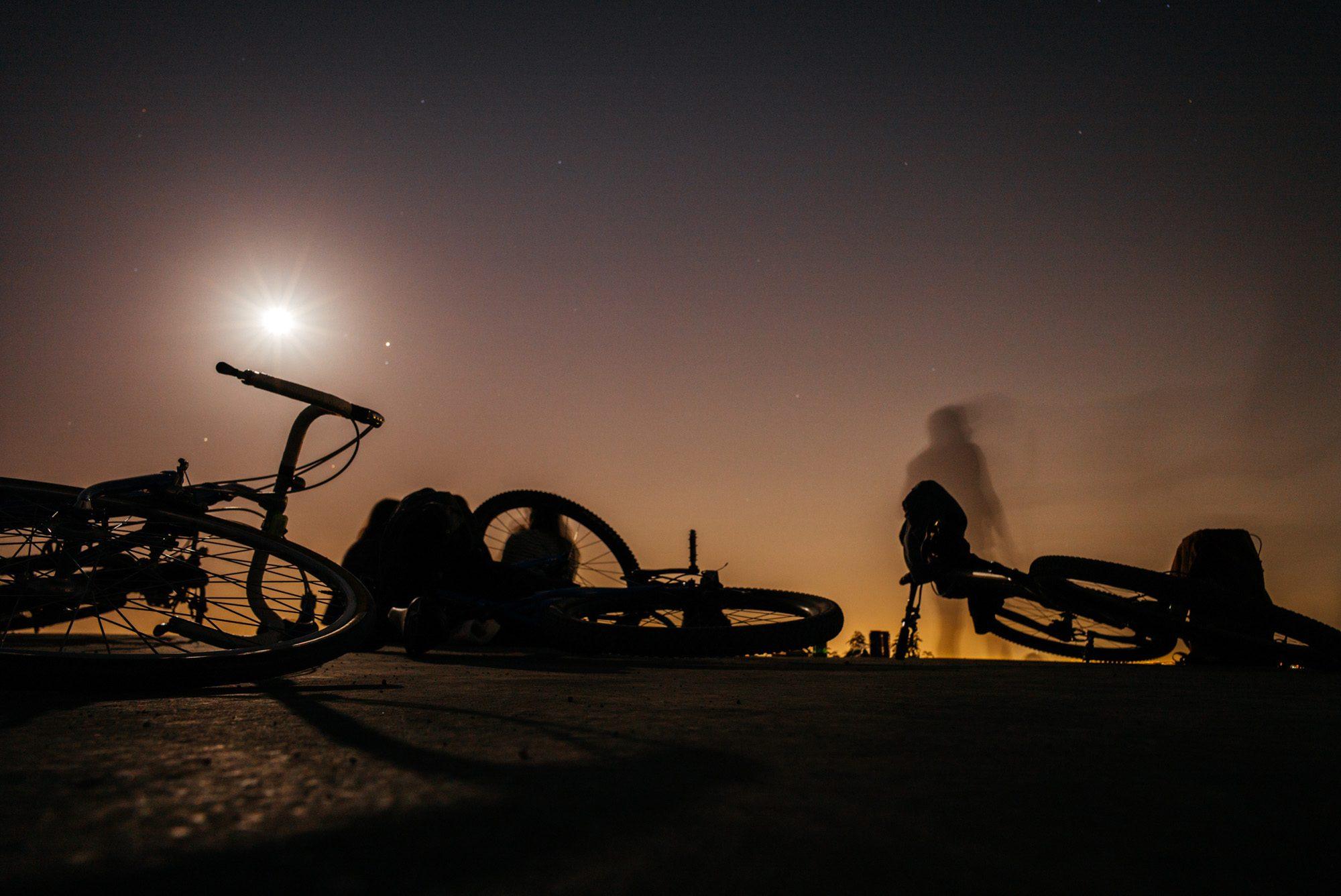 Full moon ride!