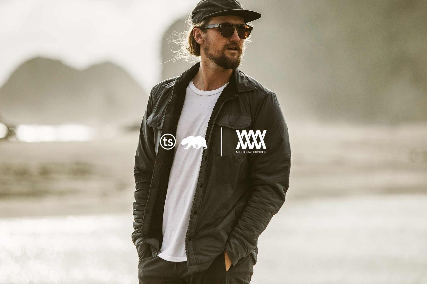 Taylor Stitch and Mission Workshop: the Albion Jacket