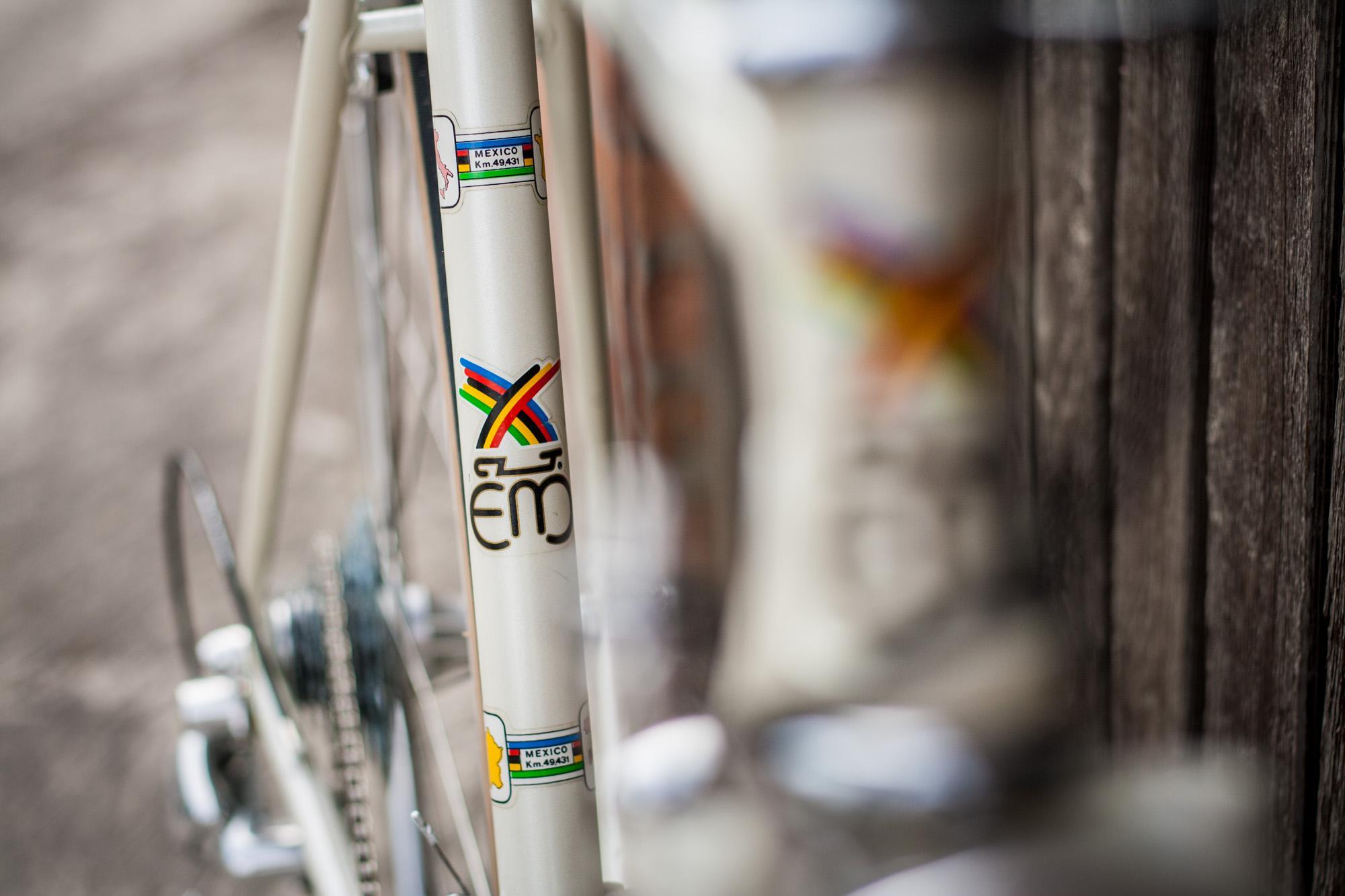 Karen is the Original Owner of this '80s Eddy Merckx –Morgan