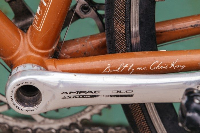 Circles Japan Personal Bike Show: Chris King's Own Cielo