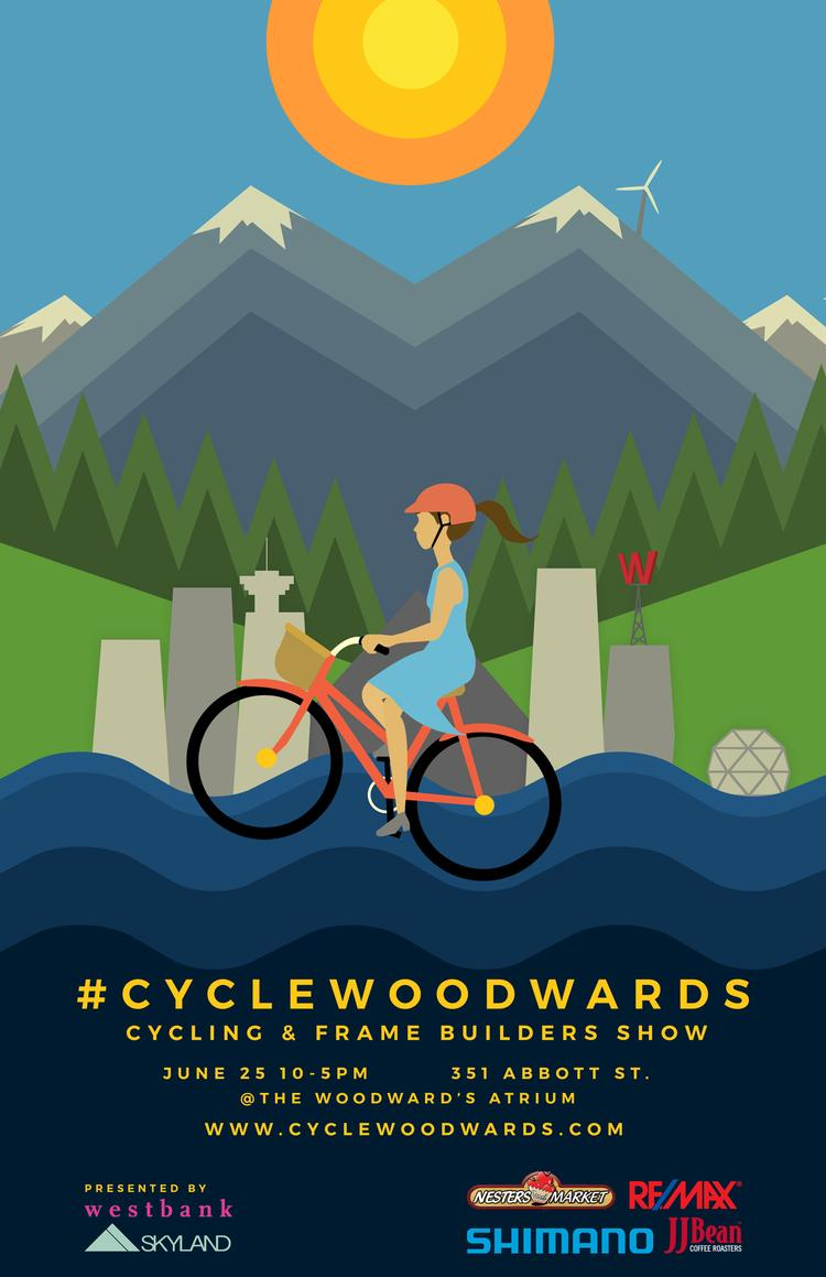 Cycle Woodwards in Vancouver This Weekend