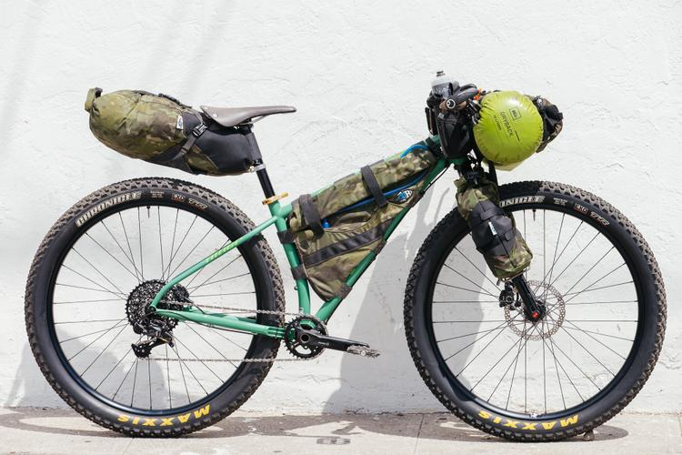 Kyle's Niner Ros 9+ is Loaded for the Adventure Cycling Bikecentennial Celebration