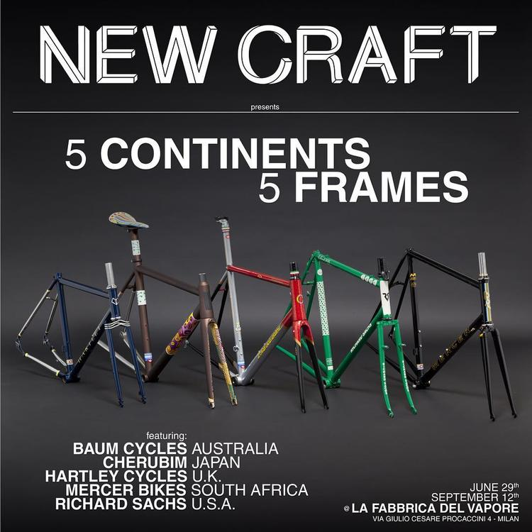 New Craft: 5 Continents 5 Frames