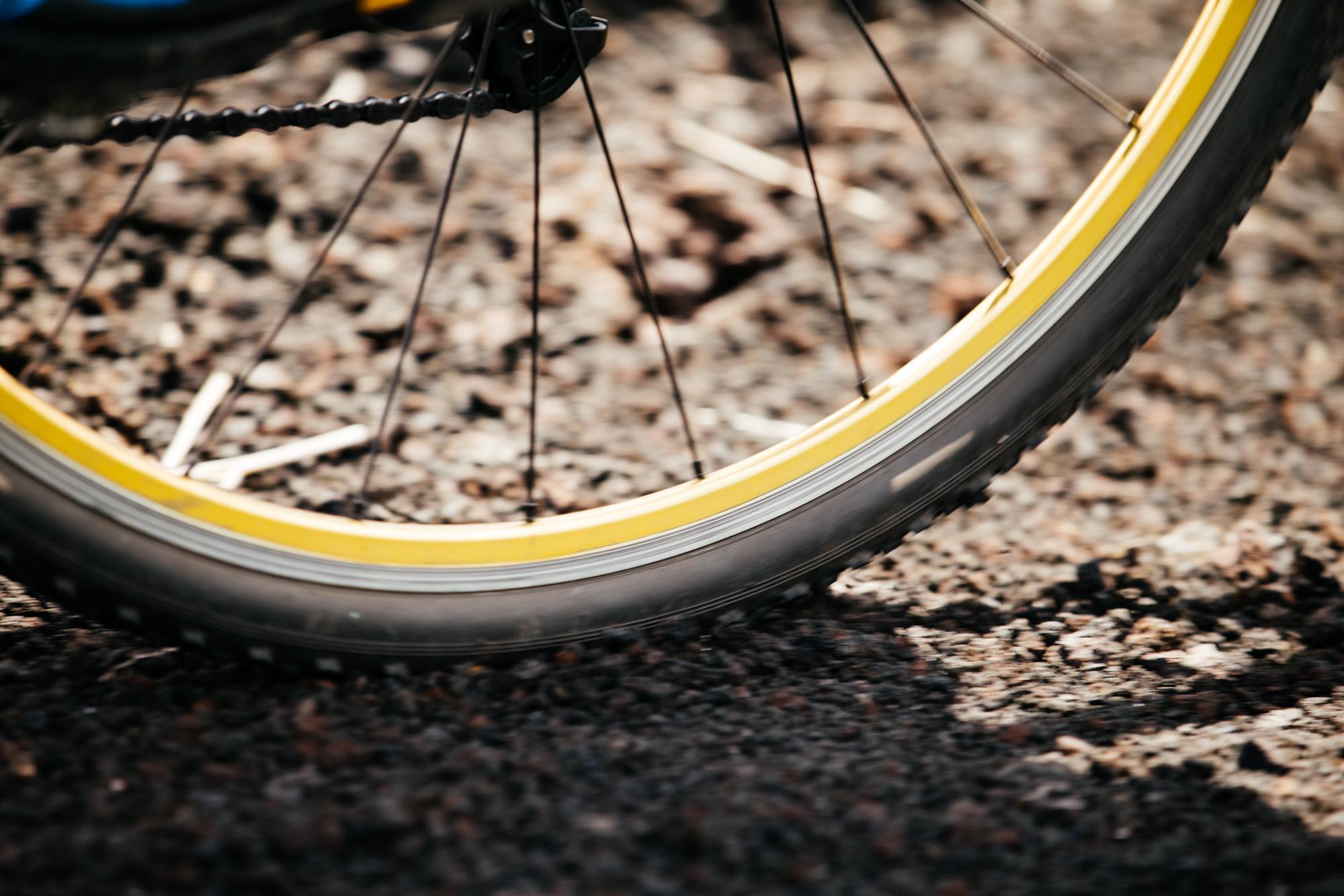 Jeremy's wheel.