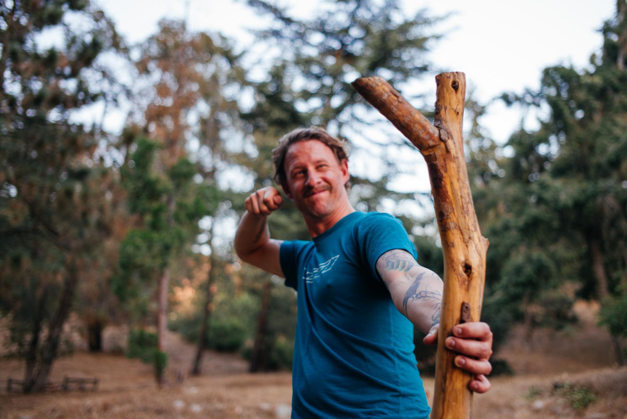 Mike's slingshot