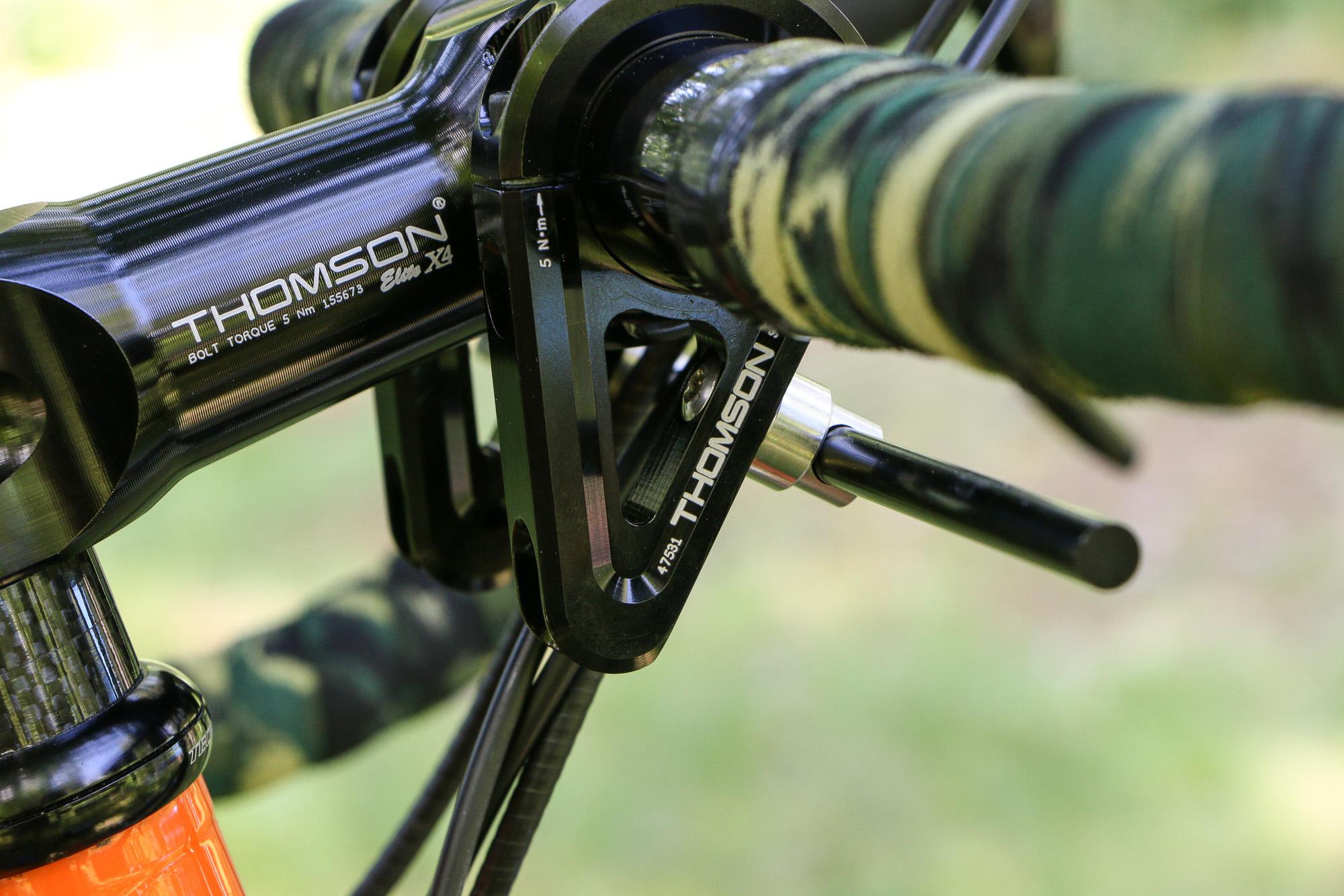 This is Thomson's 30º x 40mm Direct Mount stem. They also make two different 50mm options.