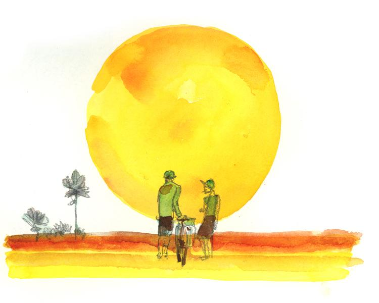 Roll With It in the South: A Florida Watercolor Sketchbook – Chris McNally