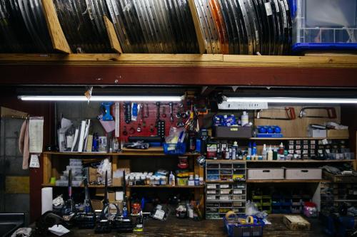 Repair studio