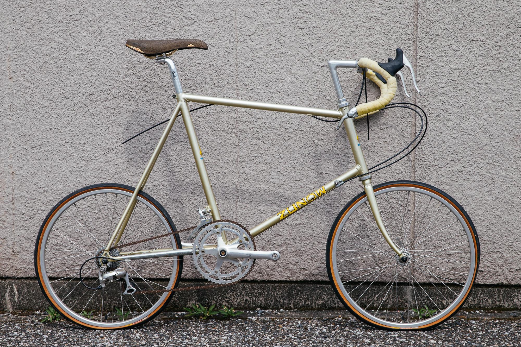 Shinya's first custom bike...