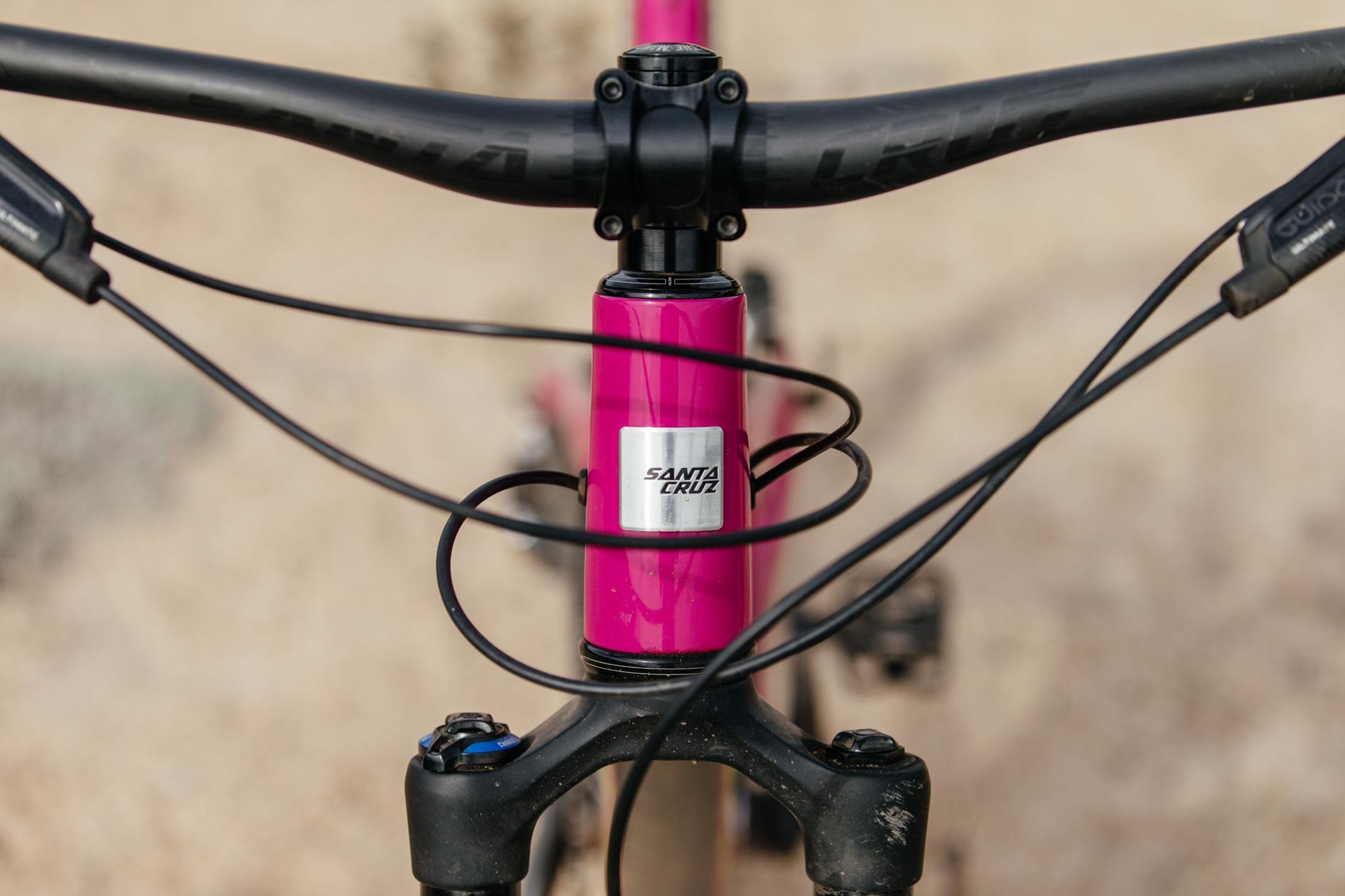 Drinkin' the Kalimotxo Santa Cruz Bicycles Bronson CC