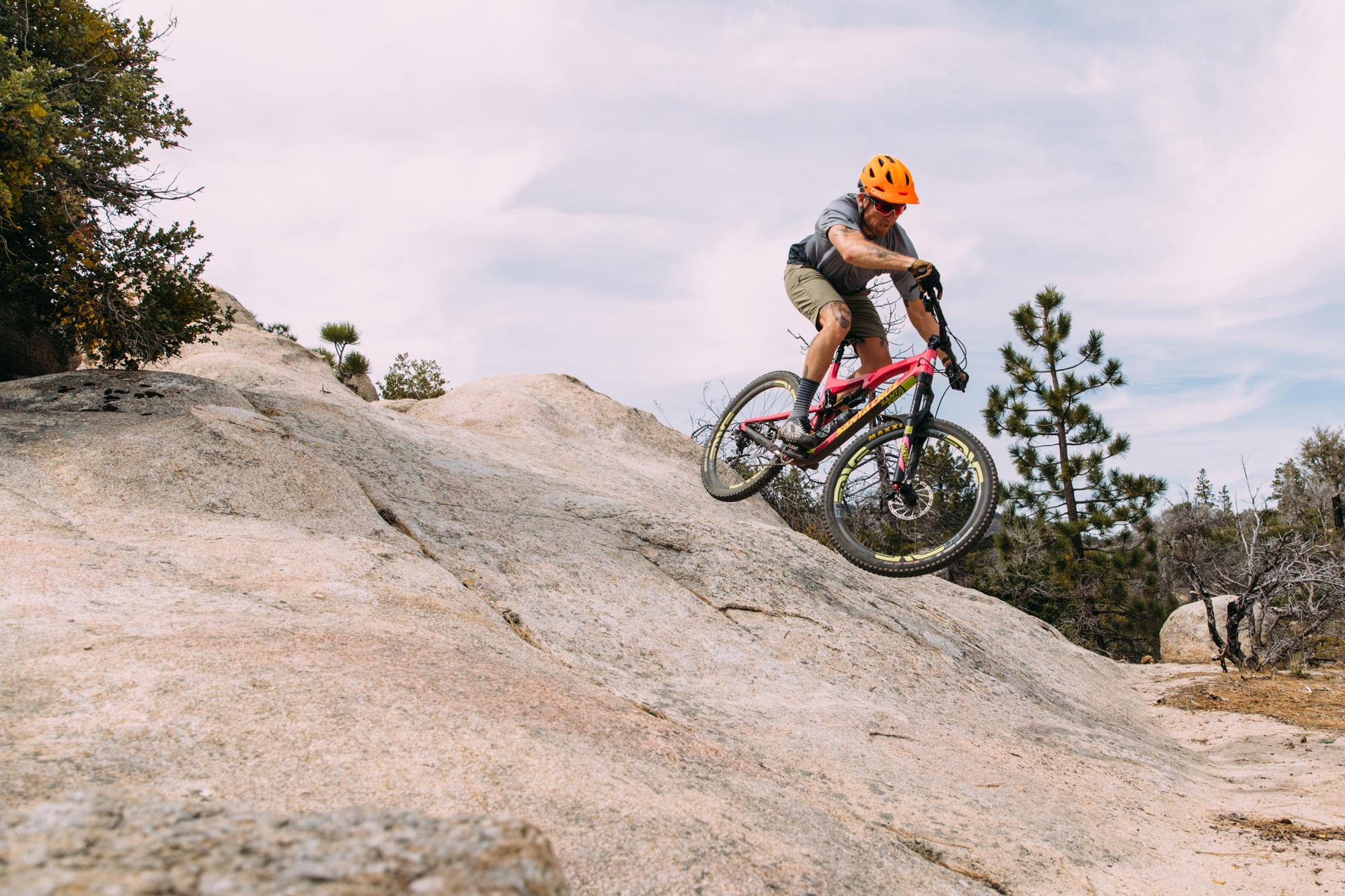 Riding the granite wave! - photo Kyle Kelley