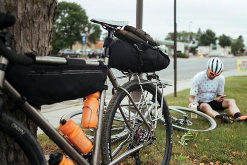 Gas station bottle fill-ups. Amery, WI