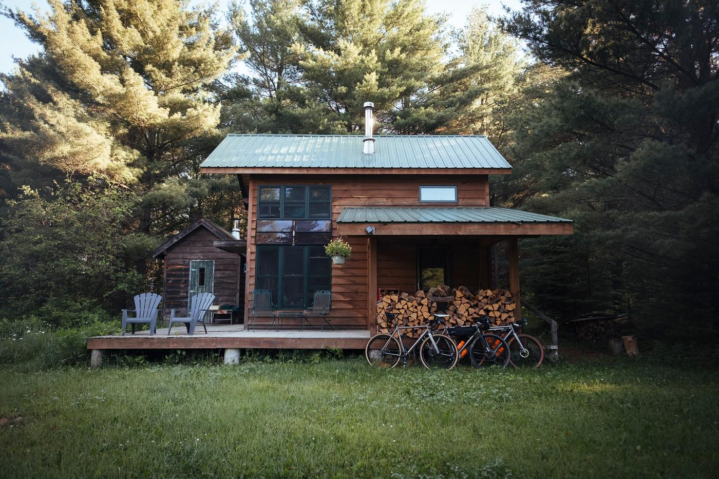 Tim's amazing cabin. Cable, WI