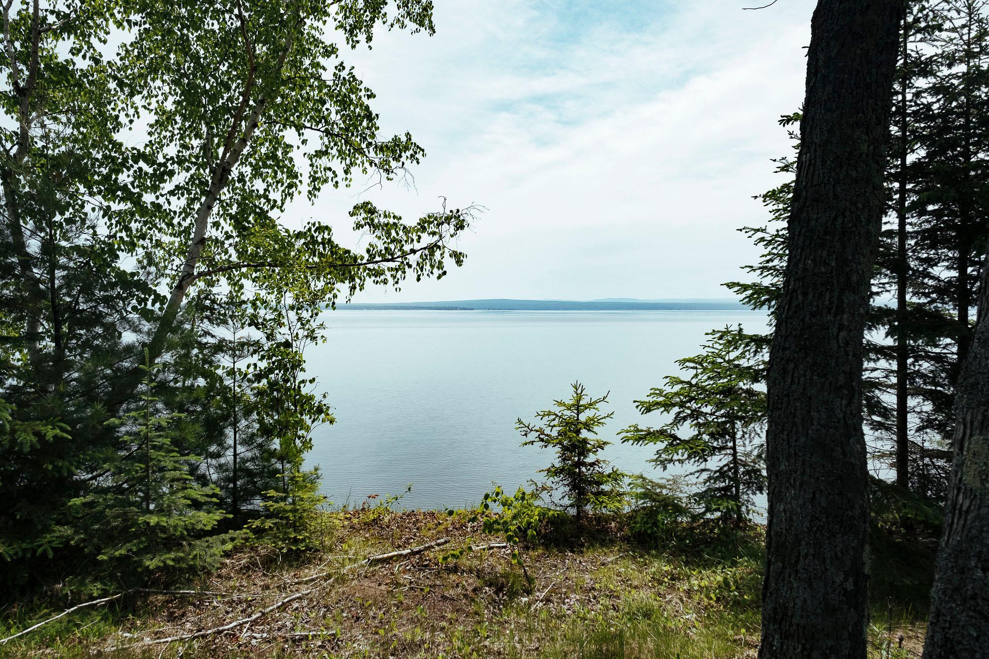 Riding south along Lake Superior. Baraga, MI