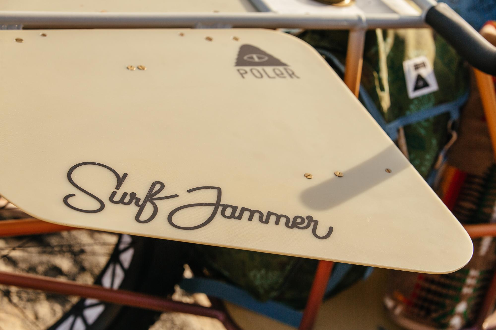 Ride to the Beach with Your Board and Brews on the Poler Surf Jammer