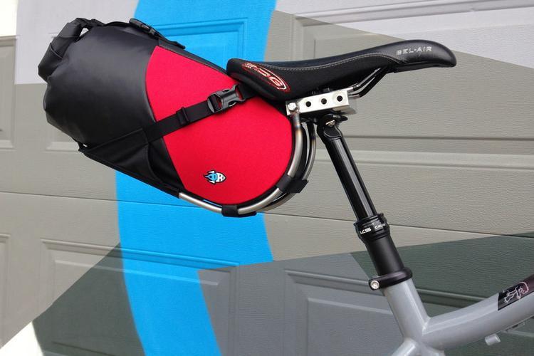 Porcelain Rocket's New Dropper Post-Friendly Saddle Bag