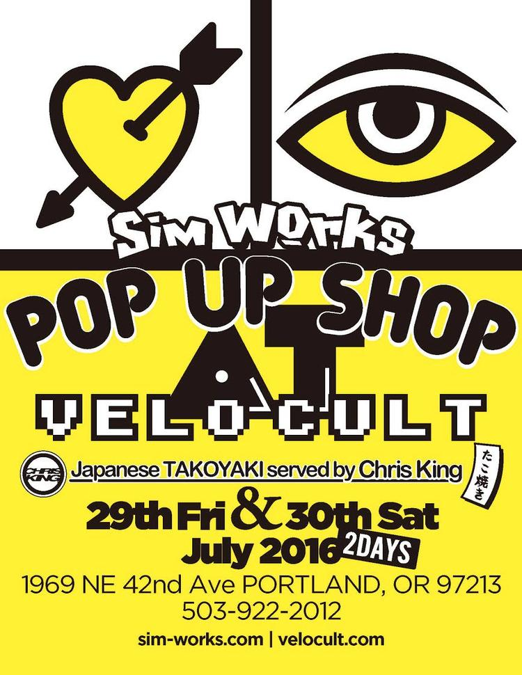 Sim Works Pop-Up at Velocult in Portland