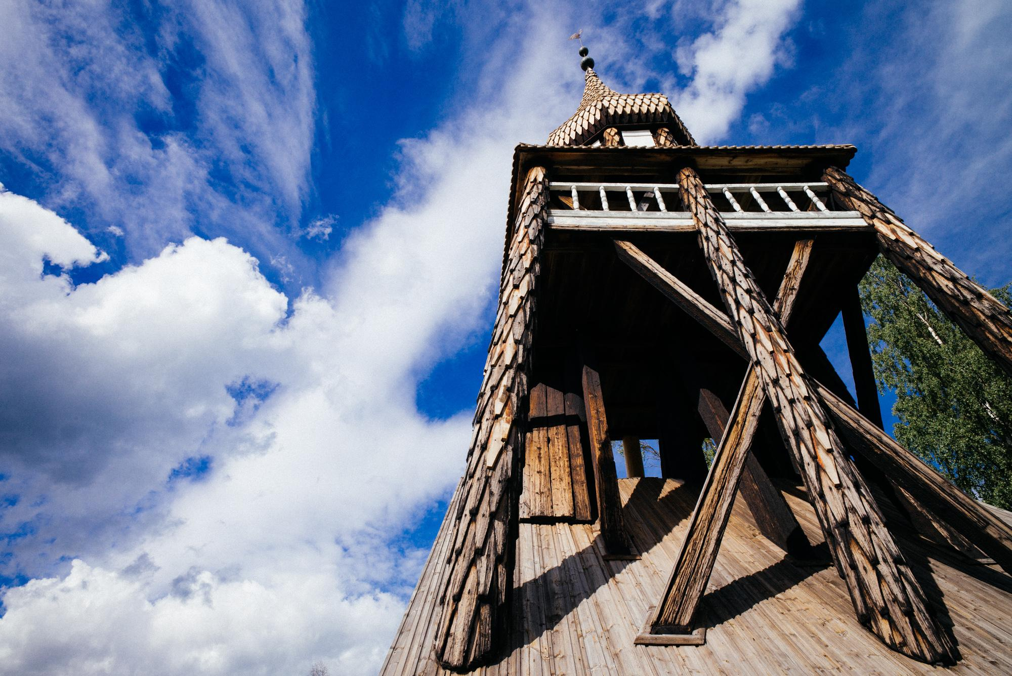 Another chapel bell tower