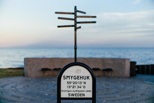 The statue at Smygehuk was underwhelming