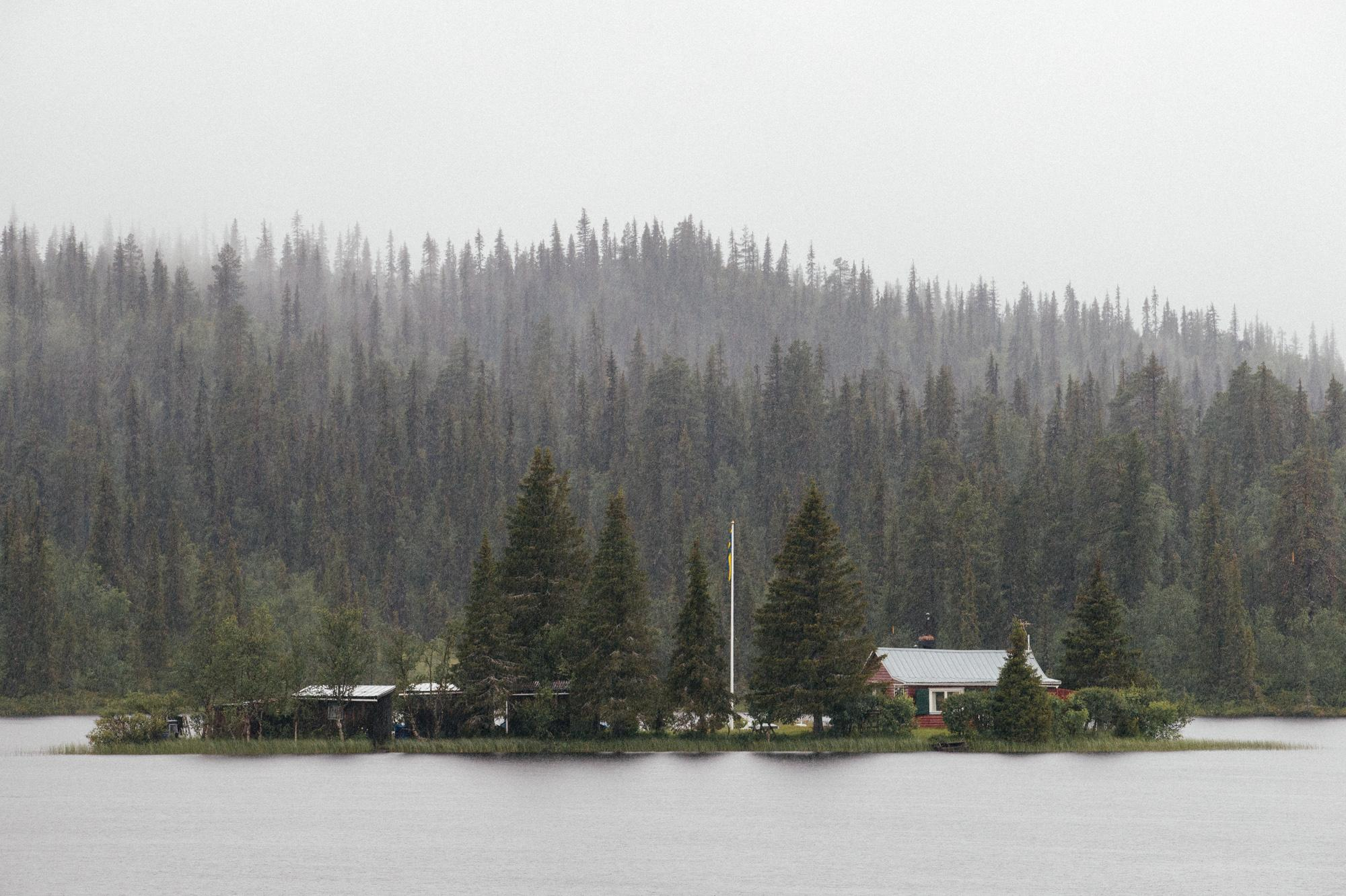 Private island, Lappland style.