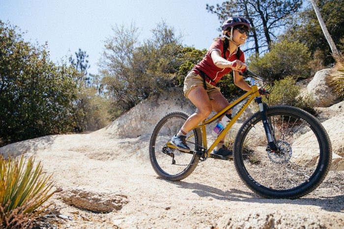 "Rie from Sim Works' Hunter Cycles Woodrat 27.5"" MTB"