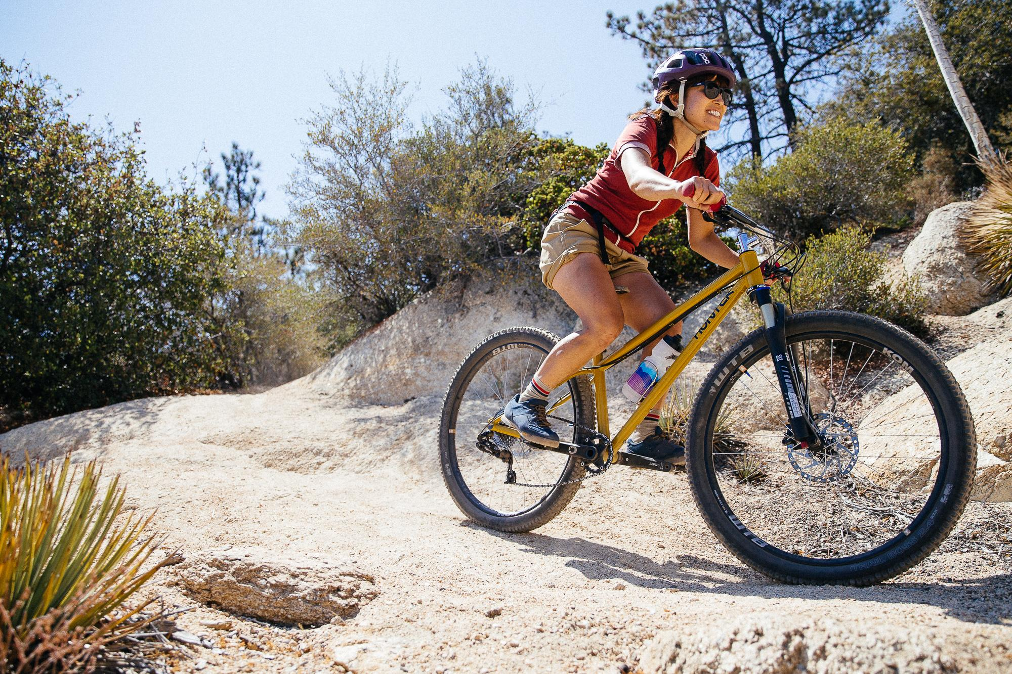 """Rie from Sim Works' Hunter Cycles Woodrat 27.5"""" MTB"""