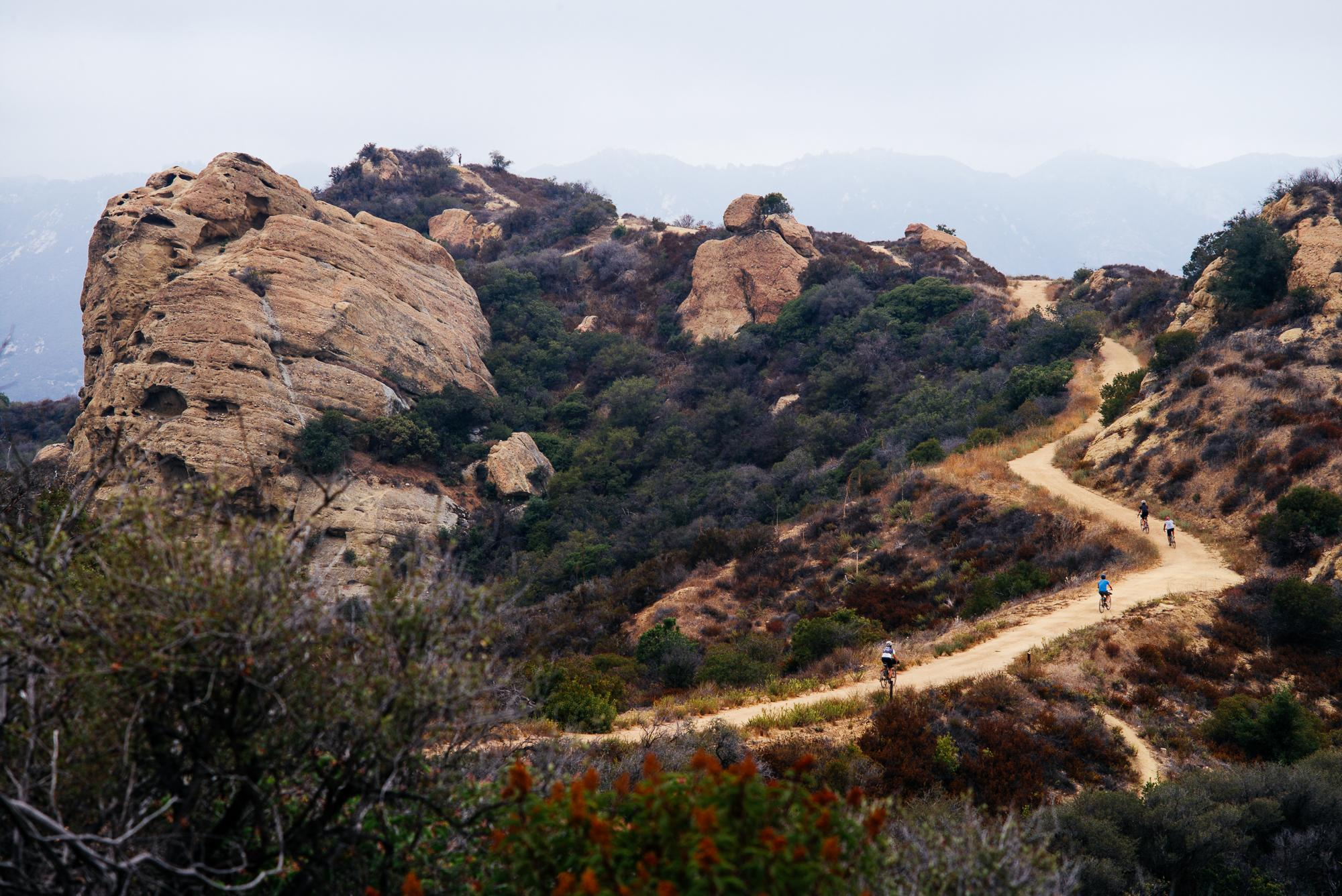 Up and around to Eagle Rock