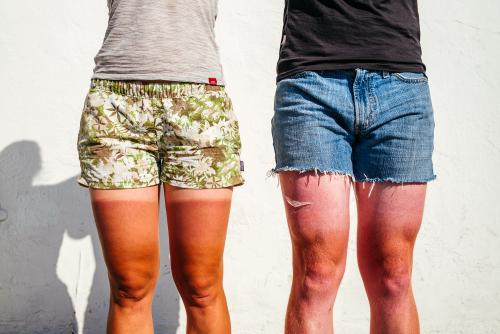 Tan lines and jorts