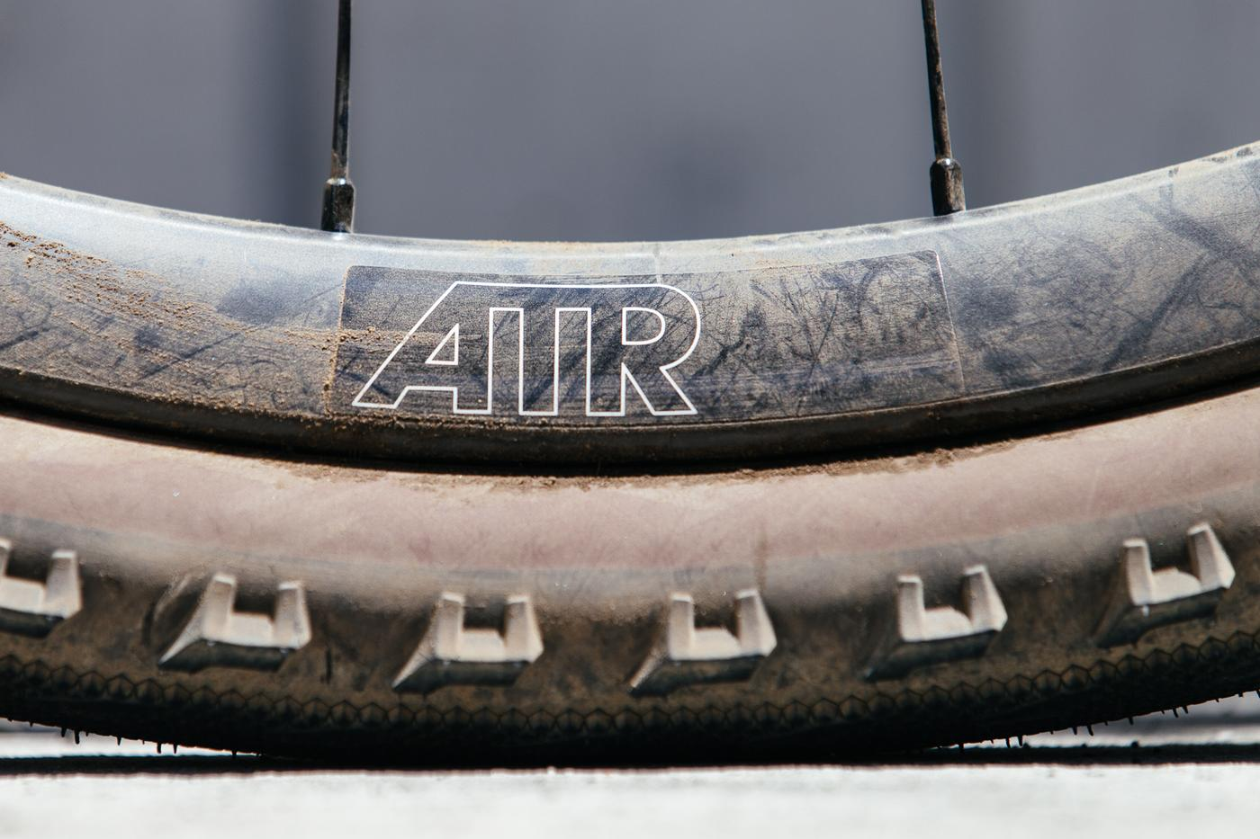 Gettin' the Reynolds ATR Carbon Disc Wheels Dirty