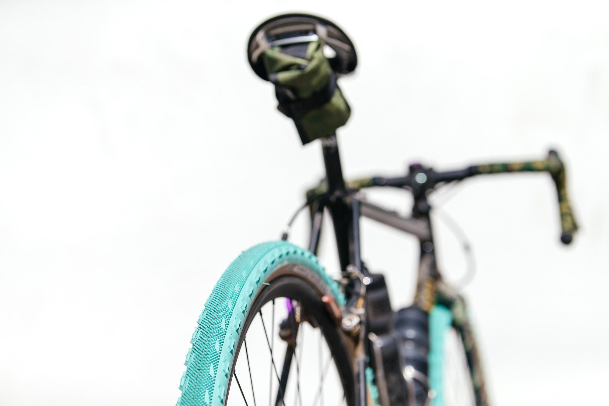 Golden Saddle Rides: Hufnagel DSC Tiger Camo 'Cross