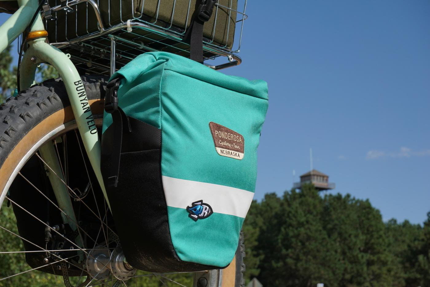 Onion Velo's Anylander Panniers by Porcelain Rocket