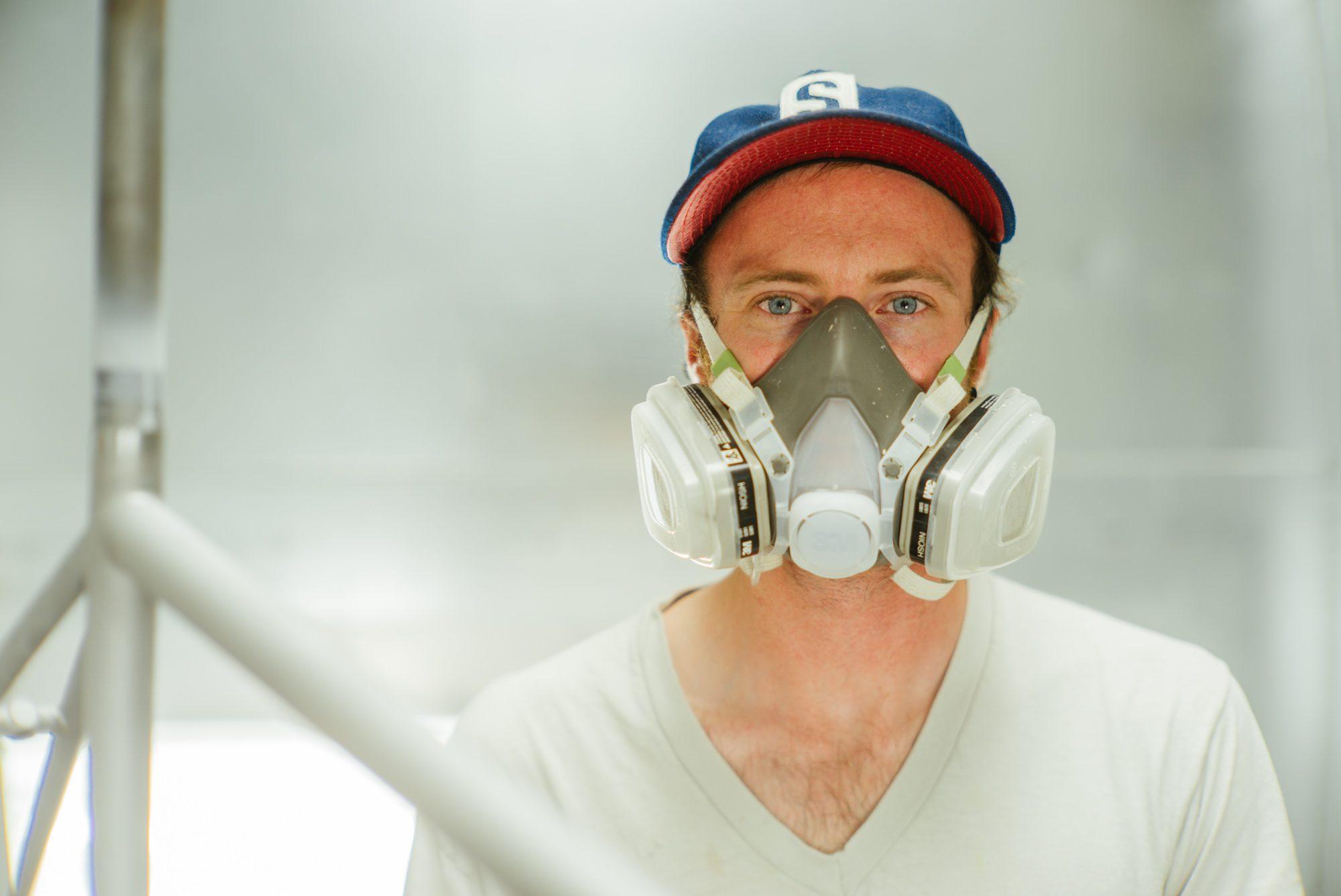 James is a master designer and sprayer.