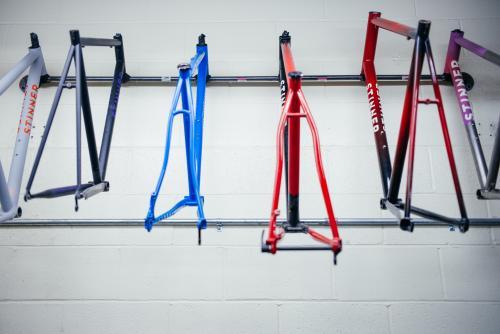 Older frames hanging
