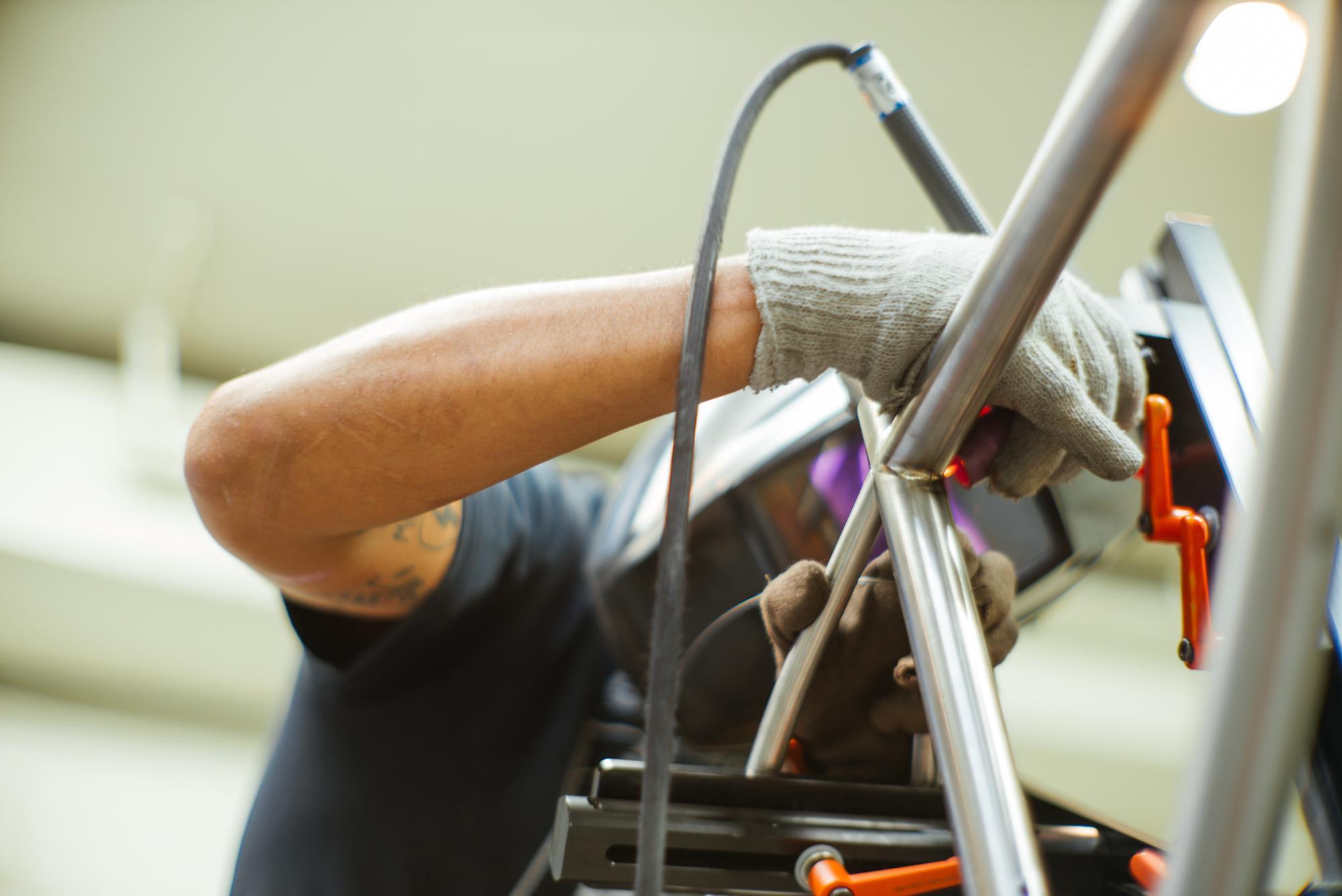 Carlos welding