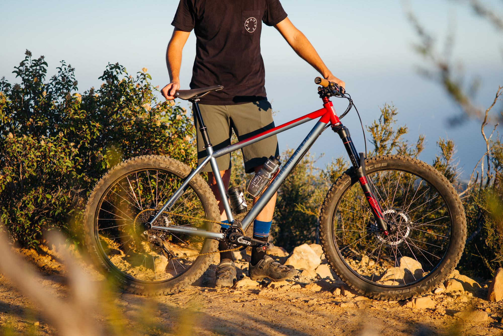One of the early 27.5+ hardtail prototypes.