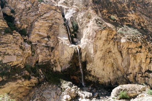 Roadside waterfalls
