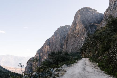 Climbing into the Cordillera Blanca