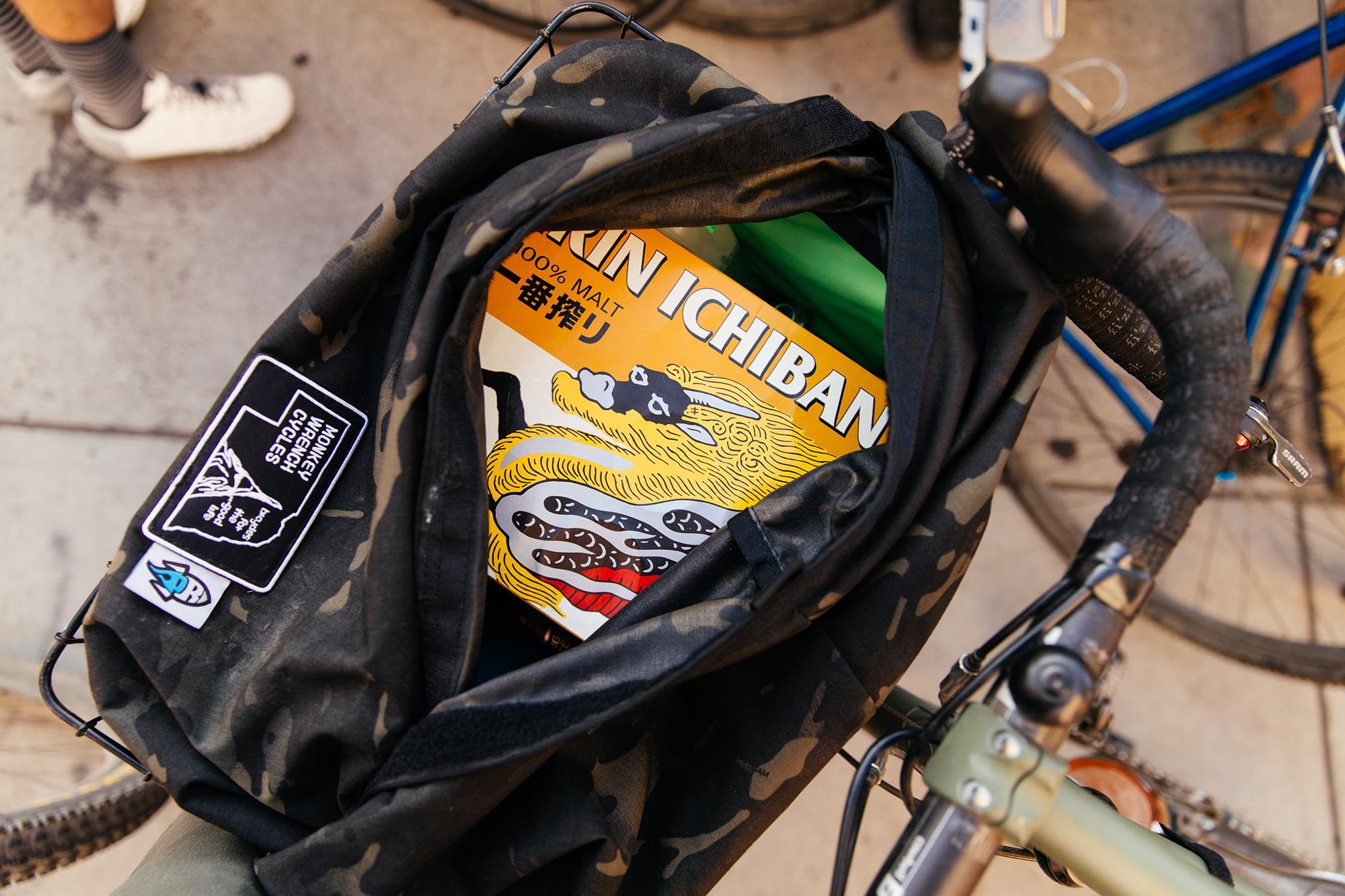 Stealthy beer bag.