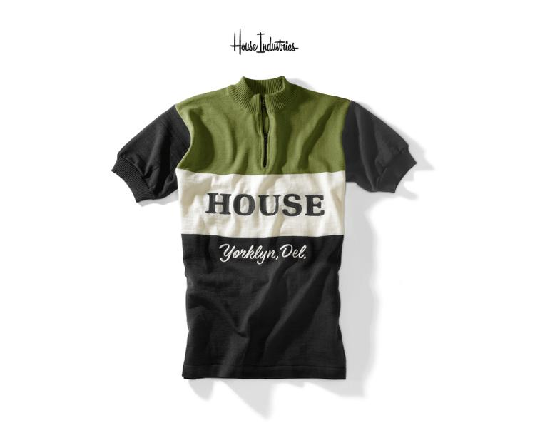 House Industry's Velo Jersey is Back in Stock