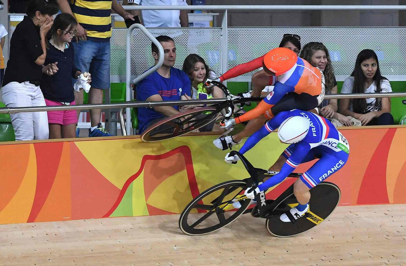 A Great Photo of Laurine van Riessen's Wall Ride