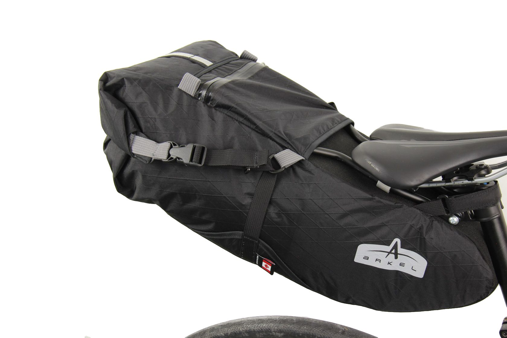 Arkel S New Rigid Frame Bikepacking Saddle Bag The