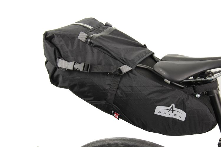 Arkel's New Rigid Frame Bikepacking Saddle Bag the Seatpacker
