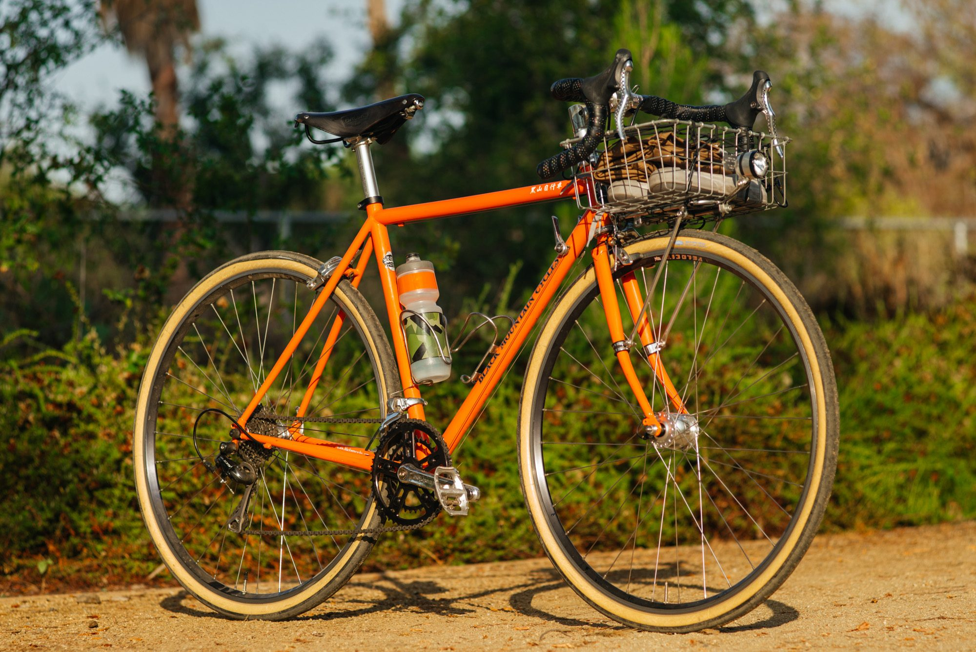 Bob's Black Mountain Cycles Basket Bike Commuter