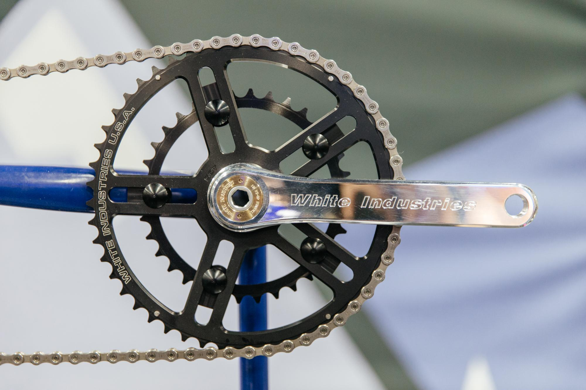 White Industries New outboard BB 30mm Spindle Road Cranks