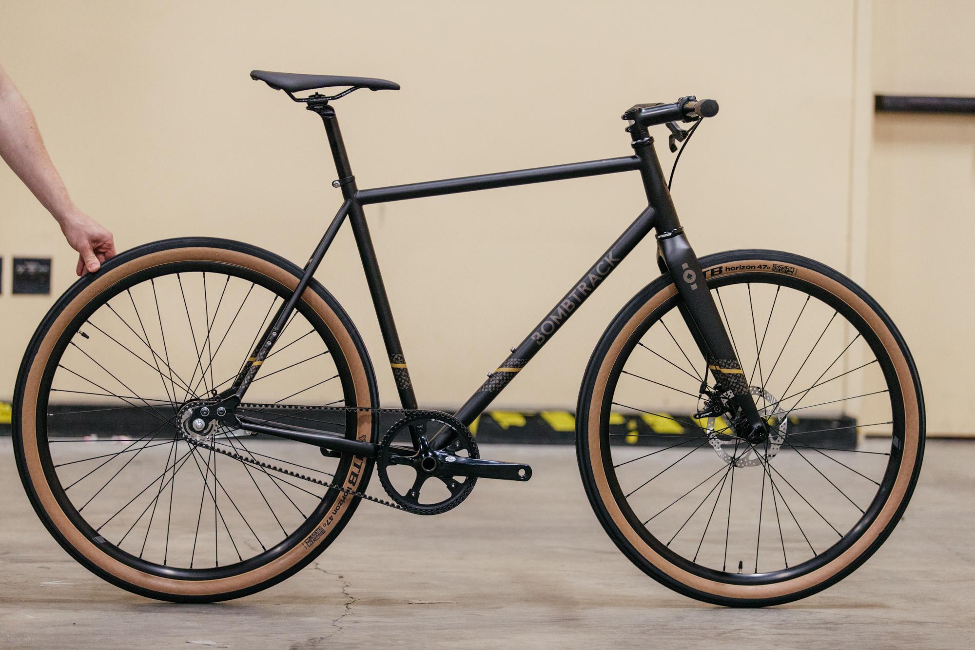 Bombtrack's Urban Racer-inspired city bike.