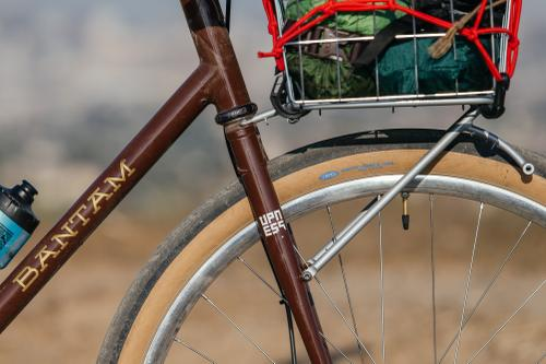 Golden Saddle Rides: Nils' Brown Bantam 650b Tourer